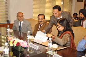 MoU Signing with IGNOU