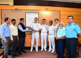 MoU Signing with INS-HAMLA 14.05.2019